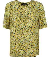 a.p.c. isabel blouse