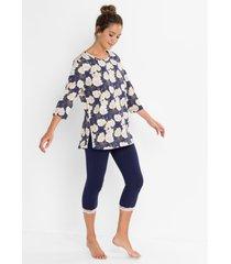 pyjama met 3/4 legging (2-dlg. set)