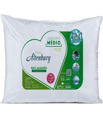 travesseiro altenburg suporte mã©dio percal 180fios 50x70cm - multicolorido - dafiti