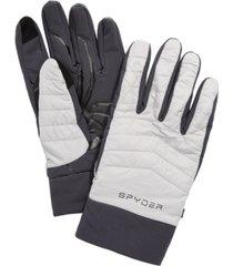 spyder men's glissade hybrid gloves