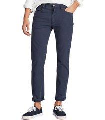 pantalon 5 bolsillos azul polo ralph lauren