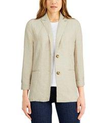 lucky brand two-button blazer