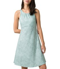 women's prana skypath a-line dress, size x-small - green