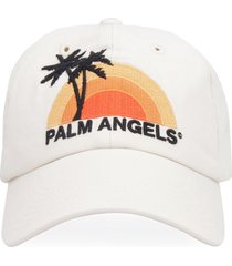 palm angels embroidered baseball cap