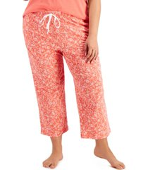 charter club cotton cropped pajama pants, created for macy's