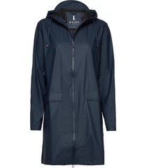 w coat regenkleding blauw rains