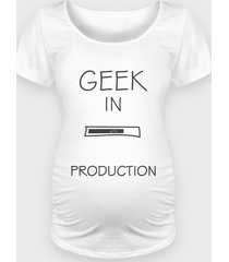 koszulka geek in production - ciąża