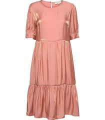 crcecilie dress knälång klänning rosa cream