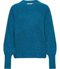 alpiagz pullover ms20 gebreide trui blauw gestuz