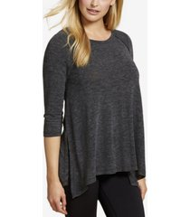 jessica simpson three-quarter-sleeve nursing top