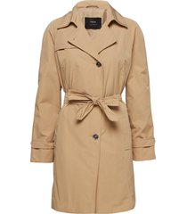outdoor jacket no wo trenchcoat lange jas beige taifun