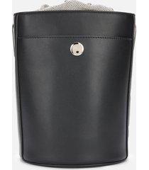 furla women's lipari s bucket bag - black