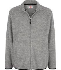fleece vest roger kent grijs