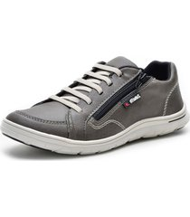 sapatenis dr shoes cinza