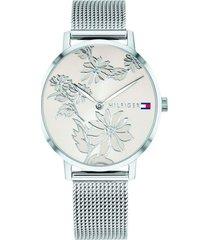reloj tommy hilfiger 1781920 plateado acero inoxidable