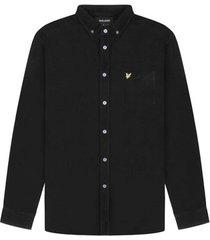 overhemd lange mouw lyle scott chemise à manches longues