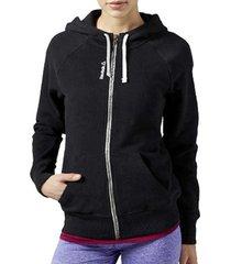 sweater reebok sport el fullzip hoodie aj3290