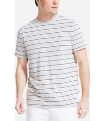 nautica men's navtech striped t-shirt