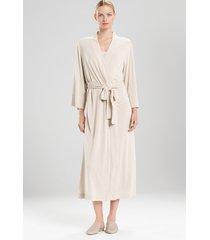 natori shangri-la long sleep & lounge bath wrap robe, women's, size l natori