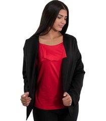 blazer casual para mujer con parte frontal abierta