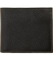 nordstrom midland rfid leather wallet in black at nordstrom