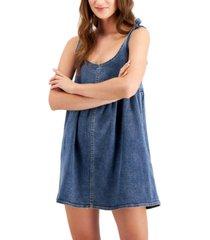 tinseltown juniors' babydoll pinafore dress