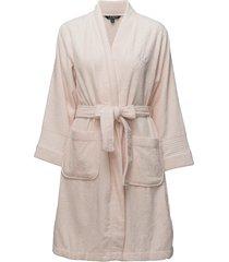 lrl essential the greenwich robe morgonrock rosa lauren ralph lauren homewear