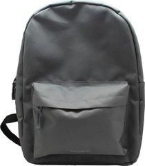 mochila notebook casual style gris brando