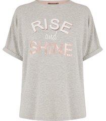 t-shirt rise + shine
