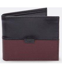 billetera de cuero para hombre 09170