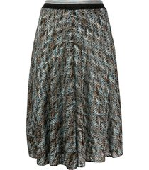 missoni crochet-knit skirt - black