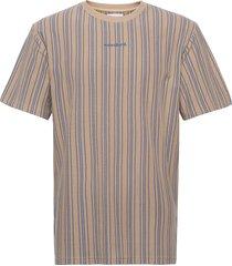 braws pique tee t-shirts short-sleeved beige woodbird