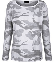 tröja amy vermont offwhite::antracitgrå