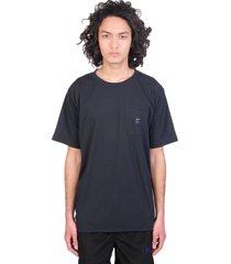needles t-shirt in black polyester