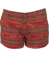 shefford - pepe jeans - broeken - rood