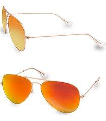 james 58mm aviator sunglasses
