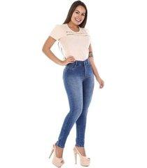 calça jeans feminina hot pants - feminino