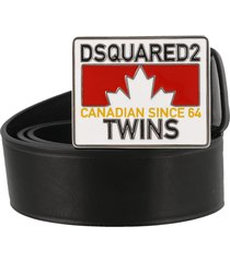 logo twins plaque belt