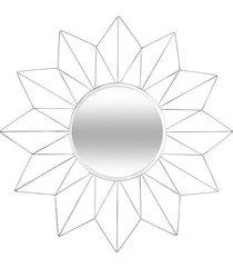 lustro dekoracyjne solei białe