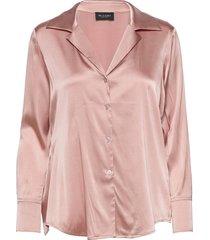 3176 - adal blouse lange mouwen roze sand