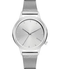reloj analogo lexi royale silver komono