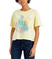 love tribe juniors' joshua tree-graphic t-shirt