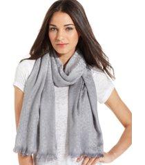 calvin klein ck logo wrap & scarf in one