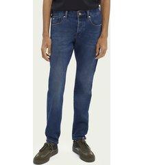 scotch & soda ralston cotton-blend jeans - submerged