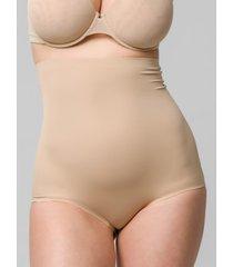 shapewear luna hoge taille afslankingslip van microvezel 39 cm sculpt