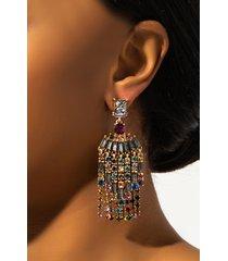 akira be our guest rhinestone earring