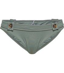 hipster w/ buttons bikinitrosa grön seafolly