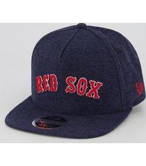 boné new era mlb boston red sox 950 marinho mescla