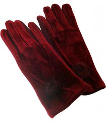 guantes lady sarah rojo viva felicia