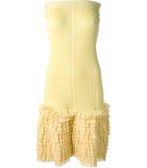 jean paul gaultier pre-owned convertible dress - yellow